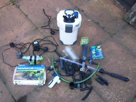 FISH TANK EXTERNAL FILTER AND OTHER BITS