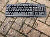 Keyboard with USB