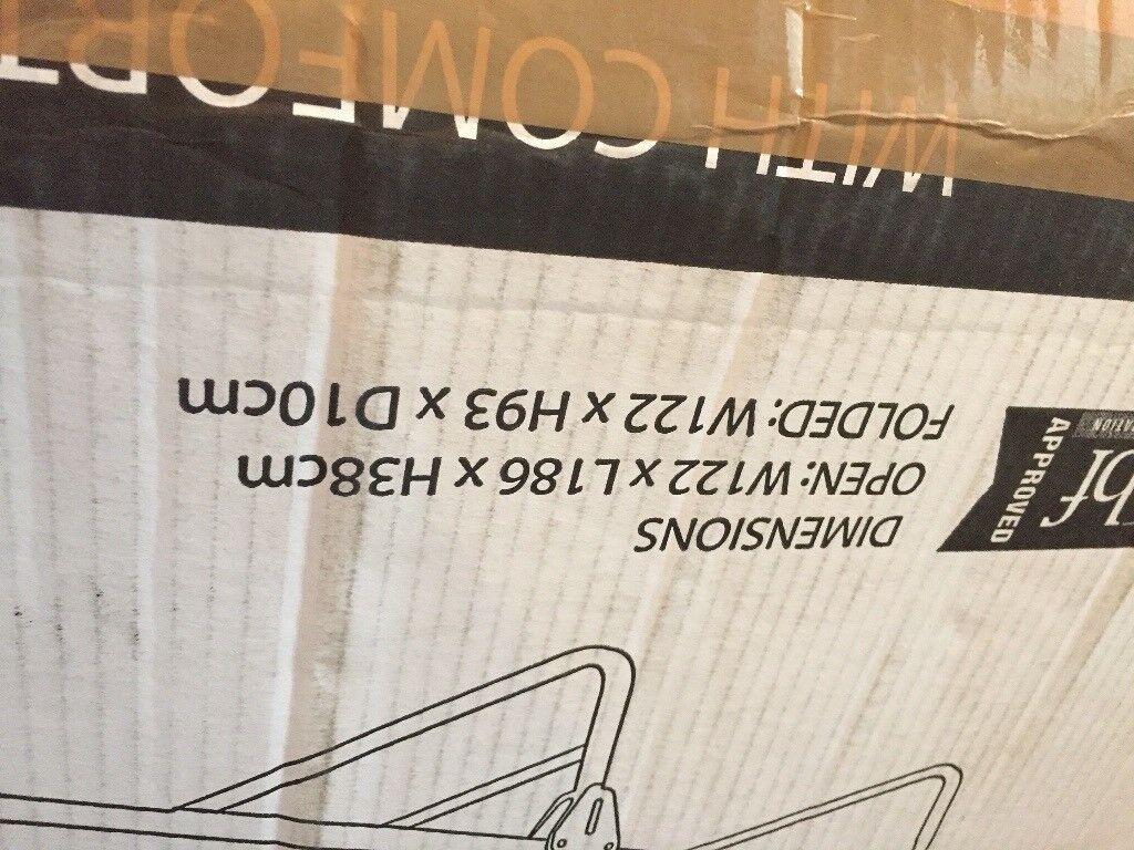 Jay-be folding bed.
