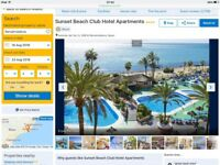 Holiday Benamadena Spain 7 nights for 2 adults and 2 children 16th August from Stansted