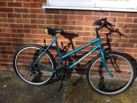 "Ladies fully serviced 19"" frame mountain bike."