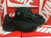 All black air max 95s available in sizes 8 and 10