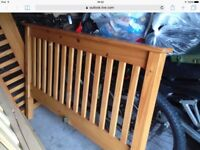 Solid pine double bed in excellent condition