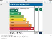 Energy performance certificates (EPC) from only £45.00