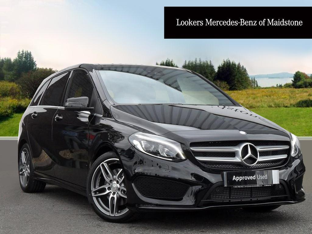 mercedes benz b class b 220 d amg line premium black 2016 06 30 in maidstone kent gumtree. Black Bedroom Furniture Sets. Home Design Ideas