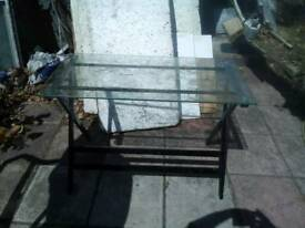 Glass table free delivery
