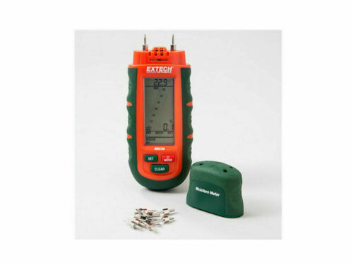 Extech MO230 Moisture Meters - Measurement Methods (Moisture Meter): Pin, For Pi