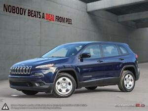 2015 Jeep Cherokee Sport*Bluetooth*WeatherTech Mats*No Accidents