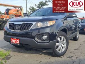 2013 Kia Sorento LX AWD |LOCAL TRADE|HTD SEATS|CRUISE|BLUETOOTH|