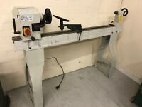 """CSM 103 Wood Lathe 14x43"""" Professional Variable Speed 240v 1HP"""