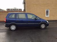 2003 Vauxhall Zafira 1.6 comes with Long MOT, Starts First time and Drives, Ready to Drive