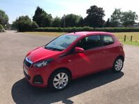 Peugeot 108 Active 1.0, FREE Road tax, Only 14000 miles