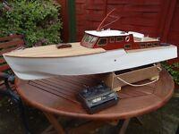 Model boat, DMI Admiral.