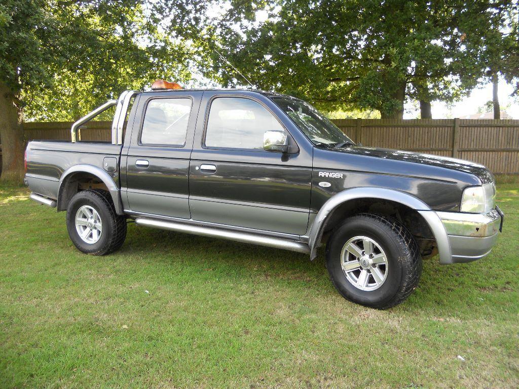Ford ranger thunder 2 5 tdi 4x4 double cab pickup 2005 for Ford ranger motor oil type