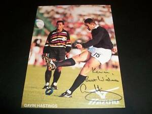 Gavin-Hastings-Scotland-Rugby-Autograph-Signed-Mizuno-4-5X6-Insert-Card-C
