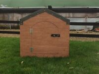 Dog houses and chicken coop