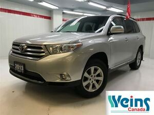 2013 Toyota Highlander 7 Seater , 1 Owner , Lease Return