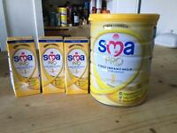 SMA pro infant milk