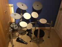 WHD 5 piece Electronic Drum Kit with Stool and Sticks Working Perfectly