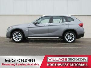 2012 BMW X1 28i AWD | Local |