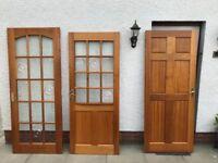 Internal hardwood doors