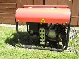 Honda engine Clarke petrol generator