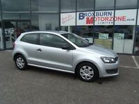 2011 11 VOLKSWAGEN POLO 1.2 S A/C 3d 60 BHP **** GUARANTEED FINANCE ****