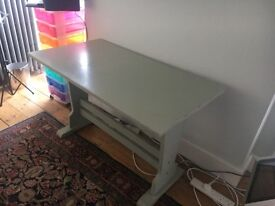 Grey painted table