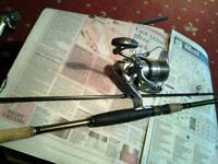 Rod and reel,quality lure rod and reel