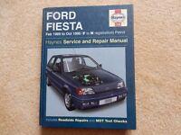 Ford Fiesta Workshop manual