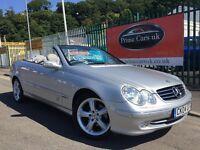 2004 04 Mercedes-Benz CLK 1.8 CLK200 Kompressor Avantgarde 2dr Petrol Automatic Low Miles