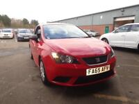 SEAT IBIZA 1.0 S A/C 3dr (red) 2016