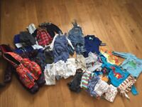Bundle of Baby Clothes - 9-12 months