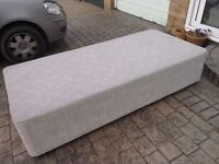 FREE - Single divan bed with drawers