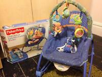 Link-a-doos Infant to Toddler rocker for sale