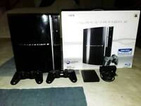 Ps3 REBUG firmware with 2 dualshock controllers and 145+ games