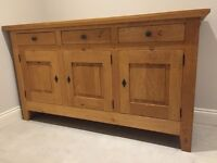 Fabulous solid wood sideboard for sale