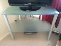 Frosted Glass Tv Unit