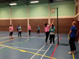 Back to Netball sessions at Clapham South in the new year!