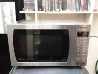 stainless steel panasonic 1000w 27L combination microwave oven with digital display