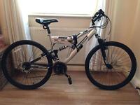 Dunlop Unisex DS26 26 inch Wheels Steel Frame V Brakes Mountain Bike Bicycle