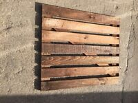 Wooden Gate (width-910 x height 1090) Price -£25-00