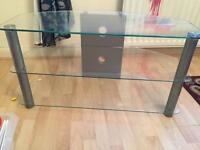 Excellent condition- TV Glass Stand/Table