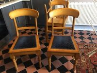 Five dining chairs / all-purpose chairs **FREE**