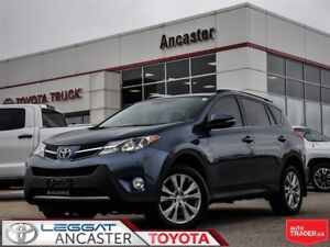 2014 Toyota RAV4 Limited only 49132 kms!!