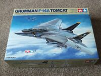 1/48th scale Gruman F-14A Tomcat model kit by Tamiya ~ TAM61114
