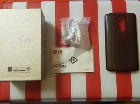 LG G3 - 16GB WHITE - IMMACULATE CONDITION