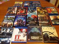 Dvds and blurays
