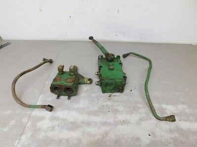 John Deere Late 2240 Tractor Dual Hydraulic Assembly Ar86535 Ar39037 11079