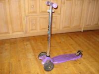 Maxi Micro Scooter (John Lewis exclusive), Purple, VGC